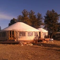 Photo Of Yurtopia   Woodland Park, CO, United States. Yurt Vacation Rental.