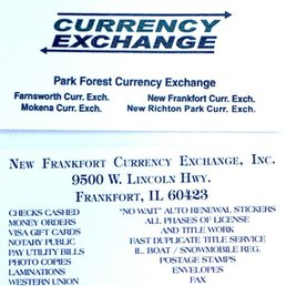 Photo Of New Frankfort Currency Exchange Il United States