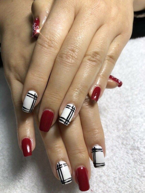 Acrylic nails design by Yvonne - Yelp