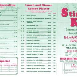 Chinese Restaurants On Mebane Oaks Rd