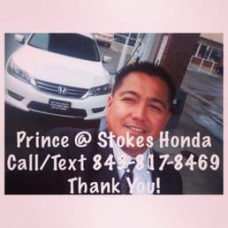Photo Of Prince Sinsuat, Your Honda Guy At Stokes Honda North   North  Charleston,