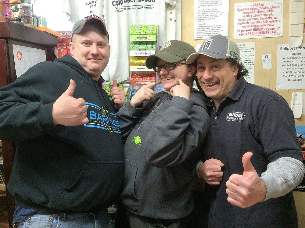 Bellport Cold Beer & Soda: 417 Station Rd, Bellport, NY