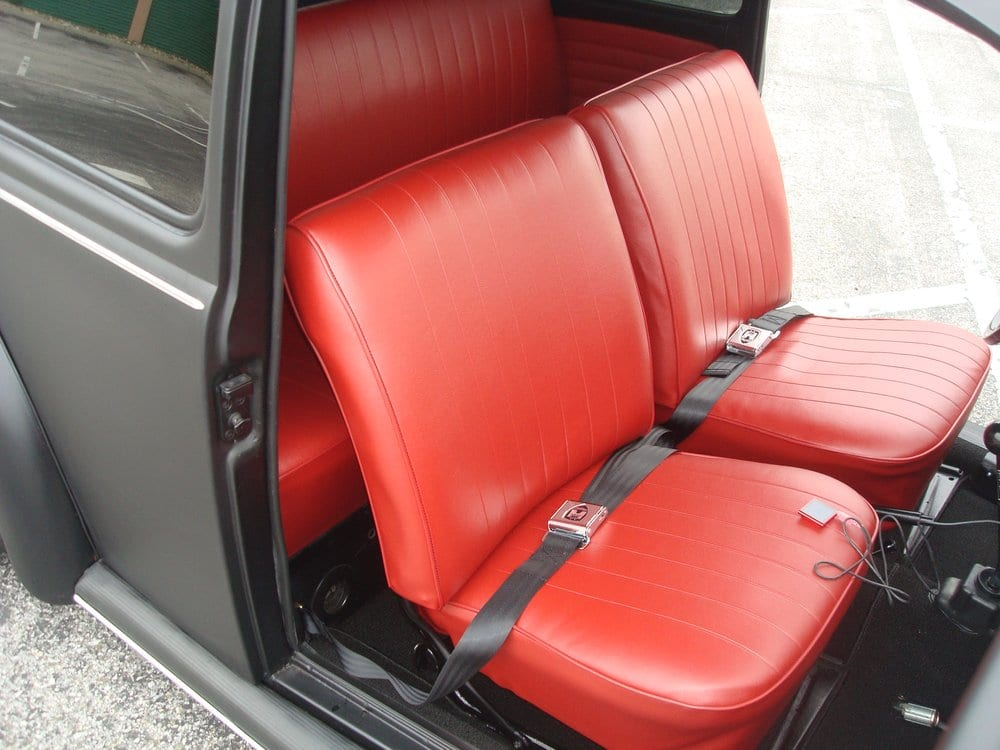 1970 vw bug reupholstered interior yelp. Black Bedroom Furniture Sets. Home Design Ideas