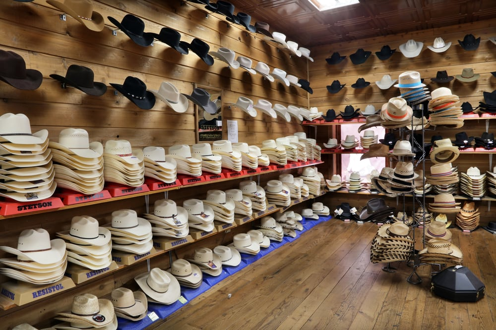ac18bdbe559 Loads of Stetson and Resistol cowboy hats to choose from! - Yelp
