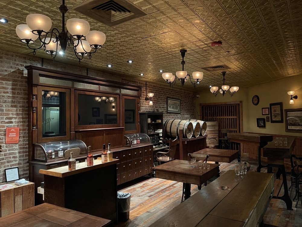 Social Spots from Evan Williams Bourbon Experience