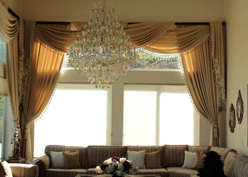 We Installed These Elegant Draperies For A Home In El Cajon San