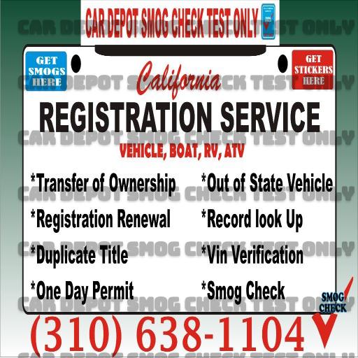 Dmv Smog Check >> Registration Services Vin Verification Dmv Services Smog Check