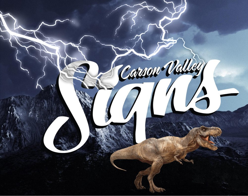 Carson Valley Signs: 1481 Southgate Dr, Gardnerville, NV