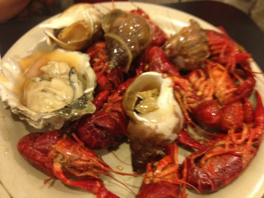 Crawfish Snails Oysters Yelp
