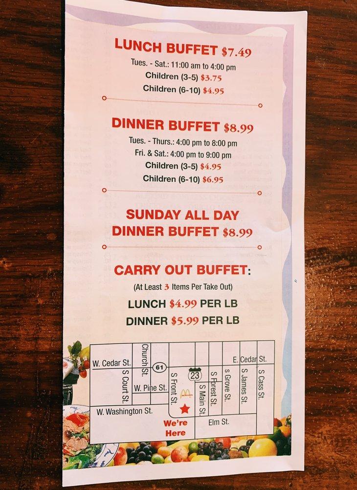Great Wall Buffet: 317 S Main St, Standish, MI