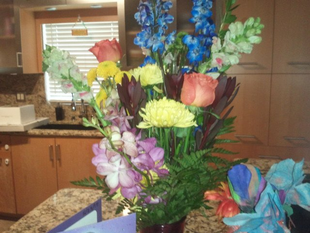 Another Wonderful Arrangement Of Fresh Cut Flowers From Buds Blooms Beyond Yelp