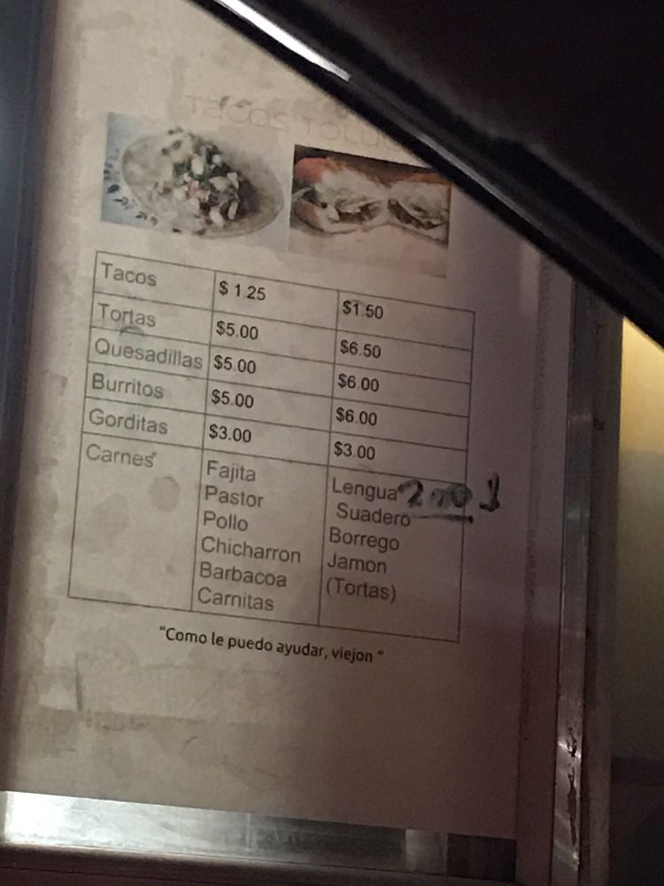 Tacos Toluca: 10886 Harry Hines Blvd, Dallas, TX