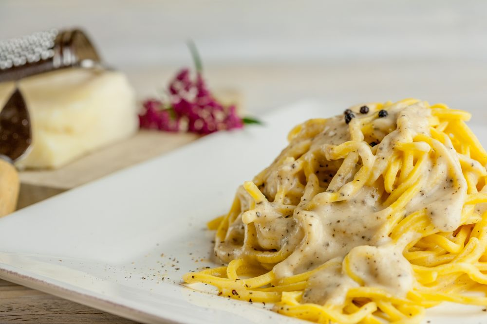 Food from DaMò Pasta Lab