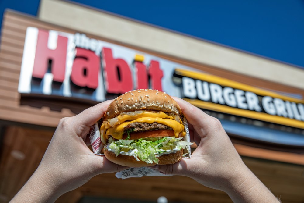 The Habit Burger Grill: 990 Town Center Dr, La Canada, CA