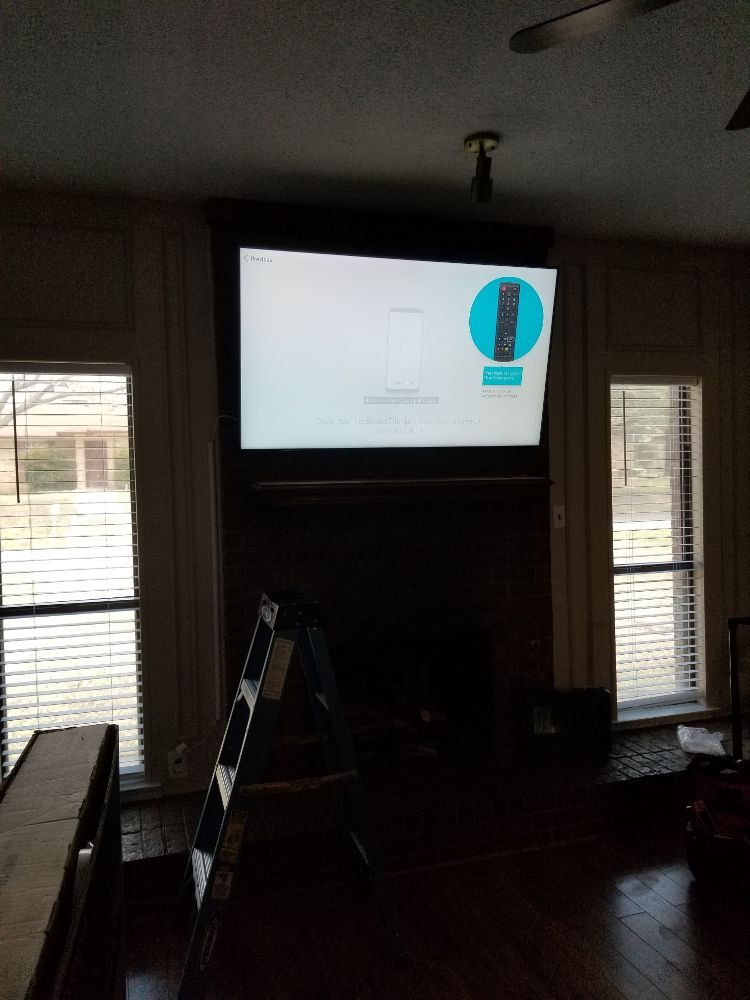 Ed TV Mounting Services: Lewisville, TX