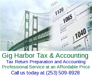 Gig Harbor Tax and Accounting: 15210 Stevens Rd SE, Olalla, WA