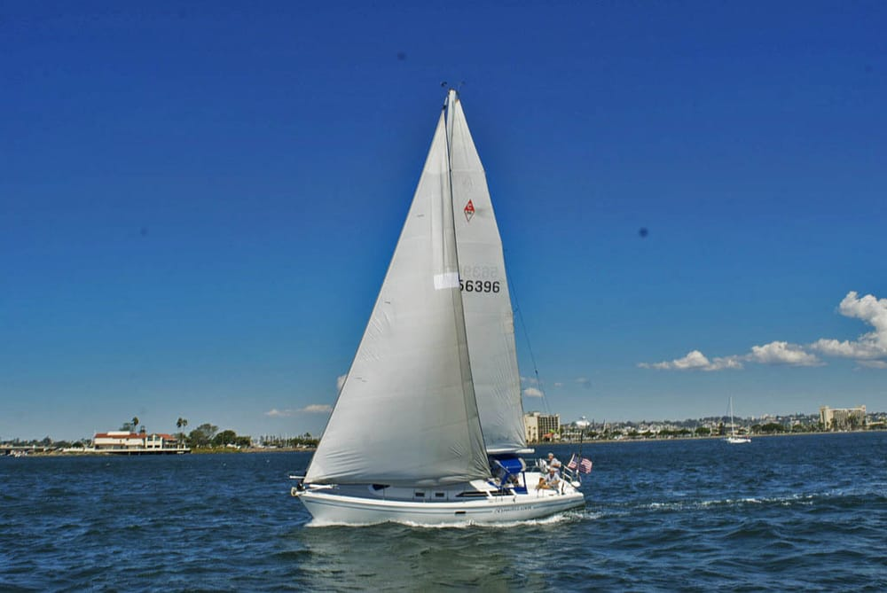 Sailing Yacht Charter On San Diego Bay All Types Of Boat