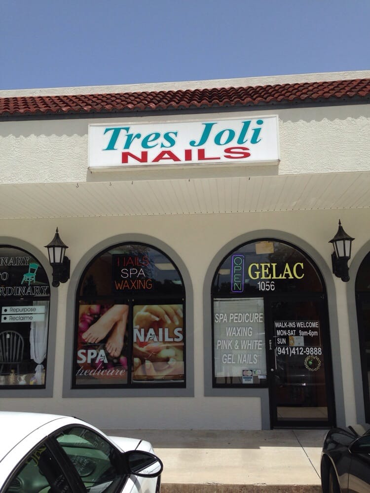 Tres Joli Nails and Skin Care - Nail Salons - 1056 E Venice Ave ...