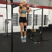 Fit camp Photo of CrossFit 1401 - West Palm Beach, FL, United States.  Pullups at