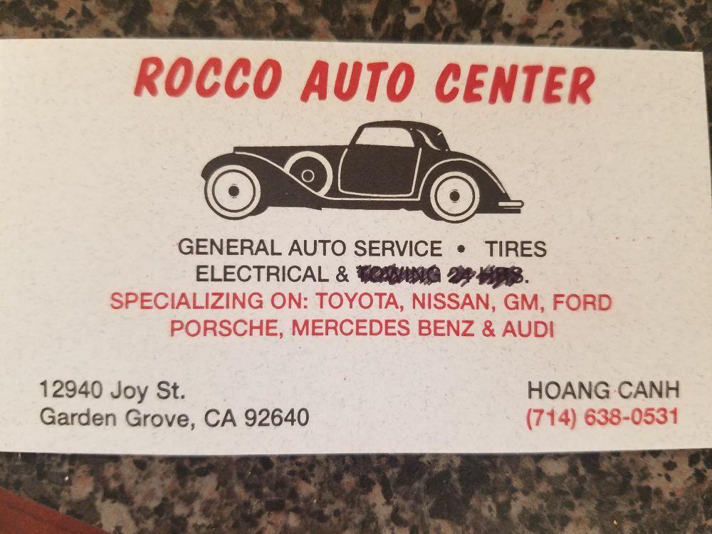 Rocco S Auto Center Repair 12940 Joy St Garden Grove Ca Phone Number Yelp
