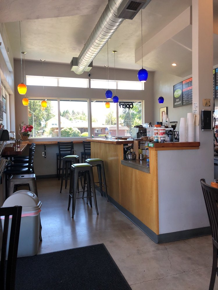 Rally Coffee Roasters: 1220 E Main St, Cottage Grove, OR