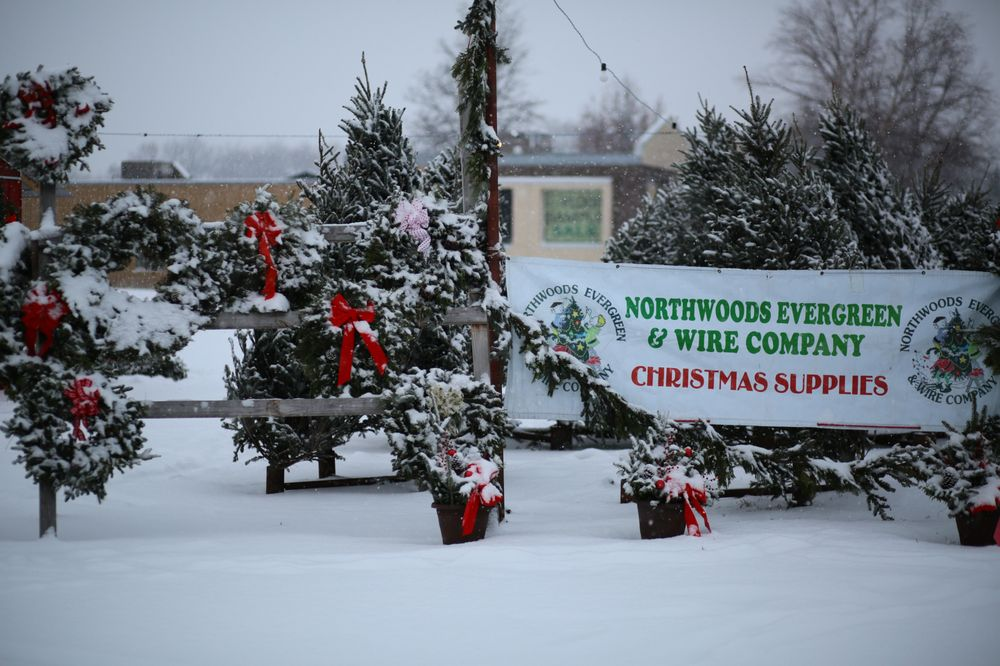 Northwoods Evergreen Tree Lot: 1474 NW 86th St, Clive, IA