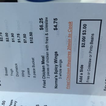 Very valuable Chubby chicken menu confirm. All