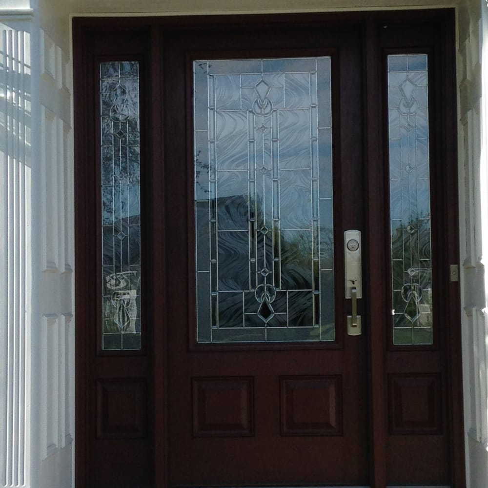Therma Tru Classic Craft Door With Lucerna Glass In Aurora Yelp