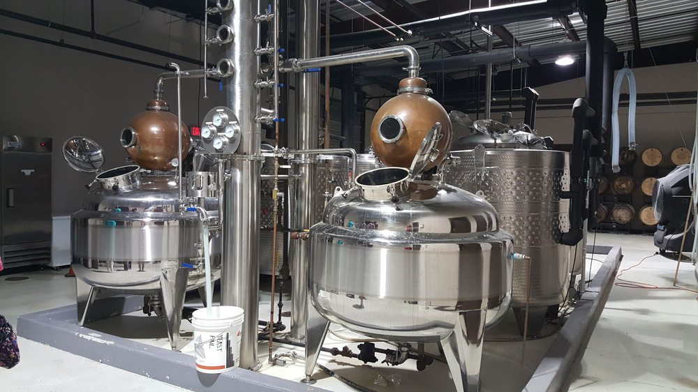 Photo of Seven Three Distilling - New Orleans, LA, United States. Production Equipment at Seven Three