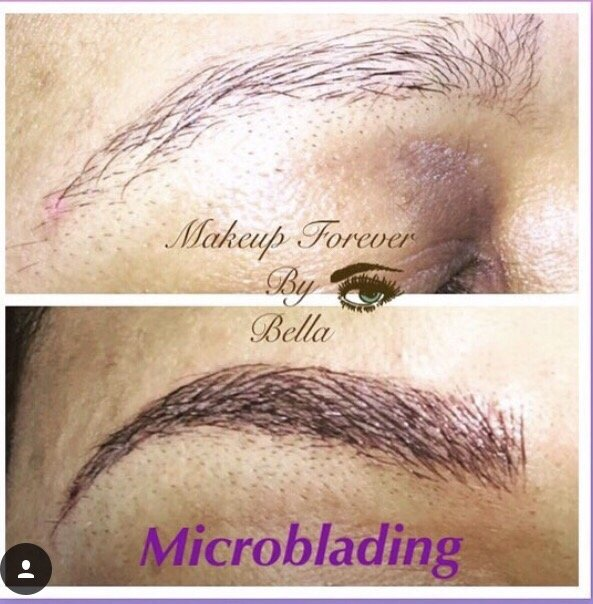 Microblading eyebrow semi permanent tattoo yelp for Semi permanent tattoo near me