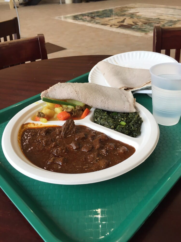 Addis Ethiopian Food: 200 N Main St, Fairfield, IA