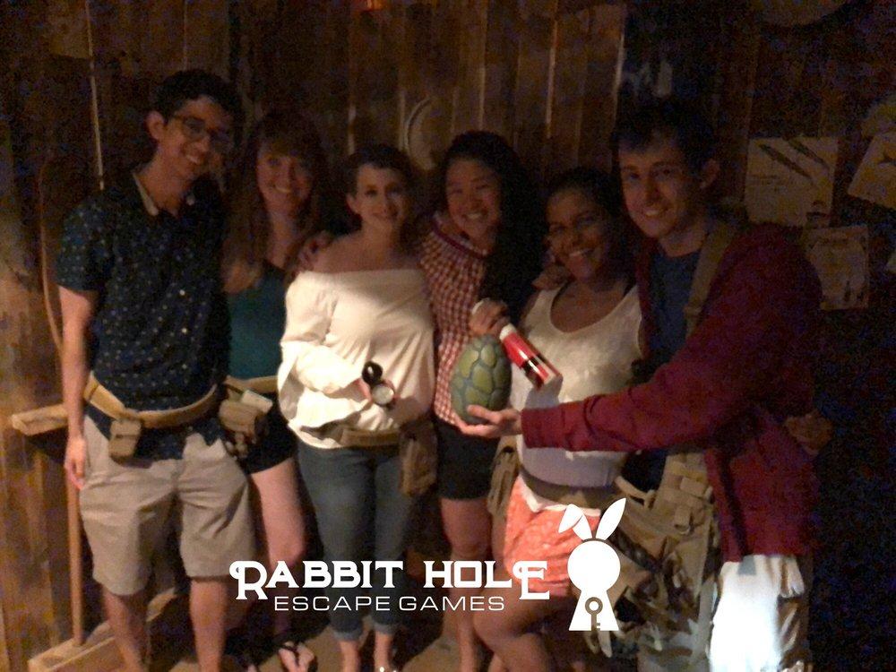 Rabbit Hole Escape Games: 5205 N Florida Ave, Tampa, FL