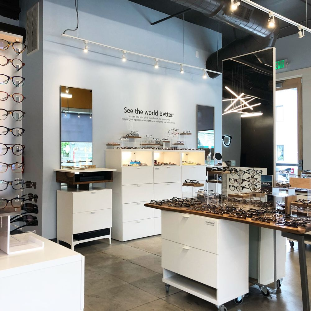 Myoptic Optometry + Modern Eyewear