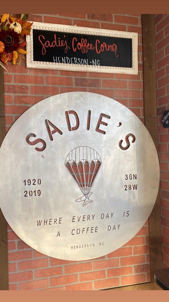 Sadie's Coffee Corner: 324 S Garnett St, Henderson, NC