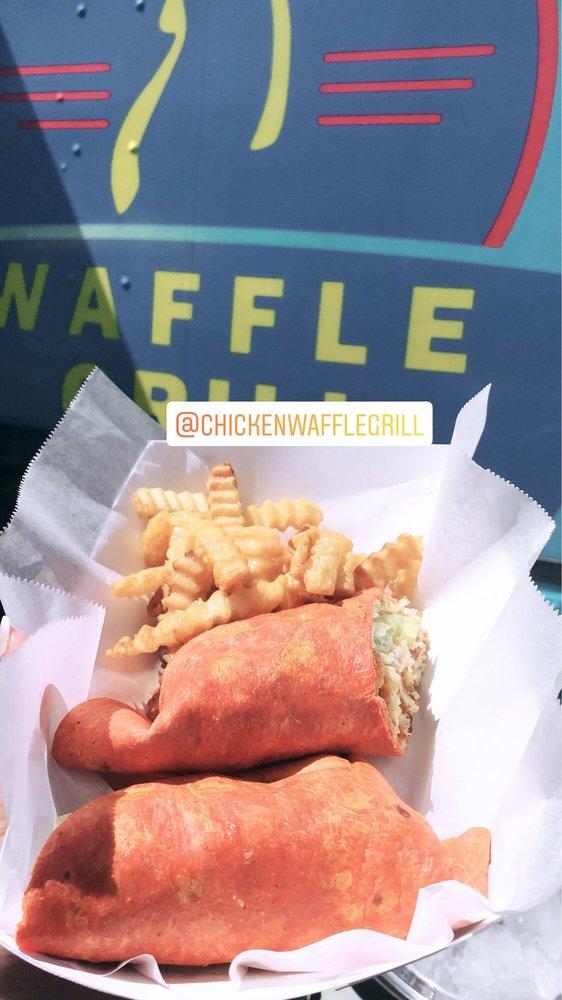 Chicken Waffle Grill Food Trucks Orlando Fl Restaurant