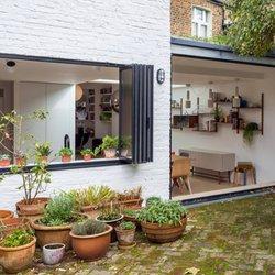 Photo of Sunseeker Doors - Luton United Kingdom. SunSeeker UltraSlim slide-pivot doors & Sunseeker Doors - 10 Photos - Interior Design - 1 Bay Close Luton ...
