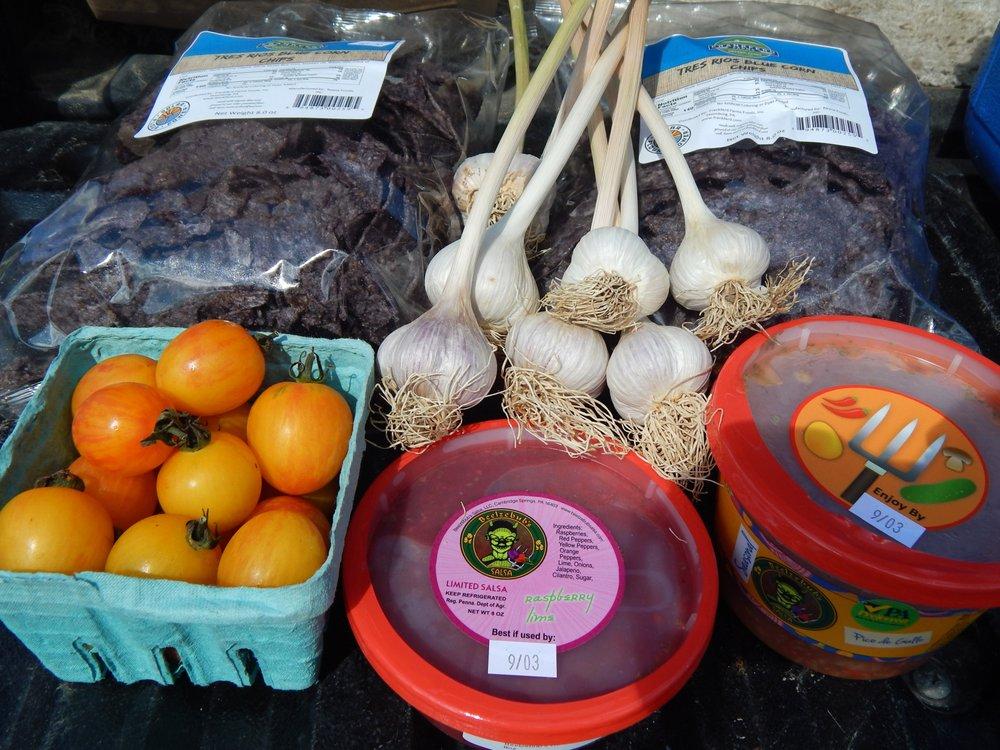 Food from Edinboro Market