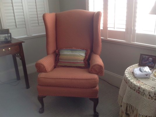 Merveilleux Photo Of Fosteru0027s Upholstery   Wilmington, NC, United States. Mid Size Wing  Chair