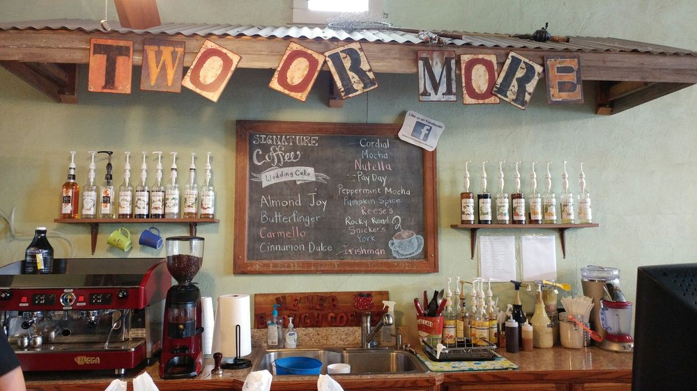 Two or More Coffee House and Cafe: 166 N Texas St, De Leon, TX