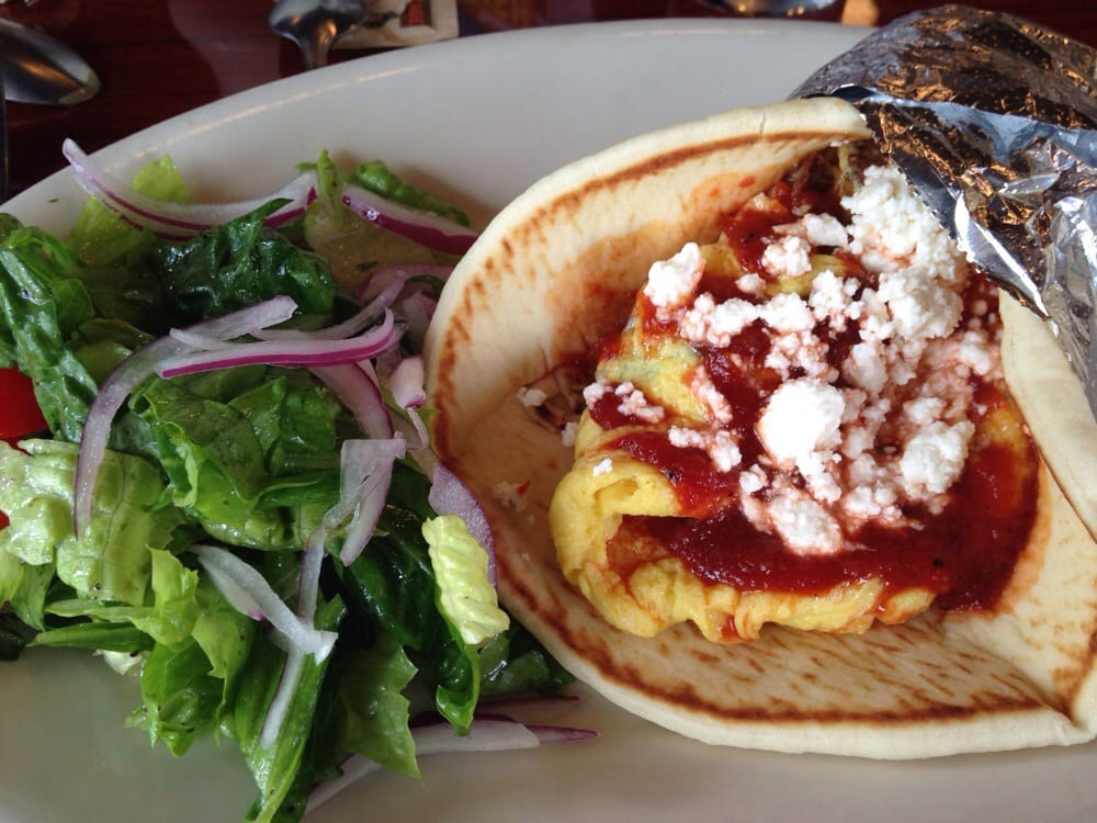 Photo of Axios Estiatorio - Denver, CO, United States. The Kalimera pita
