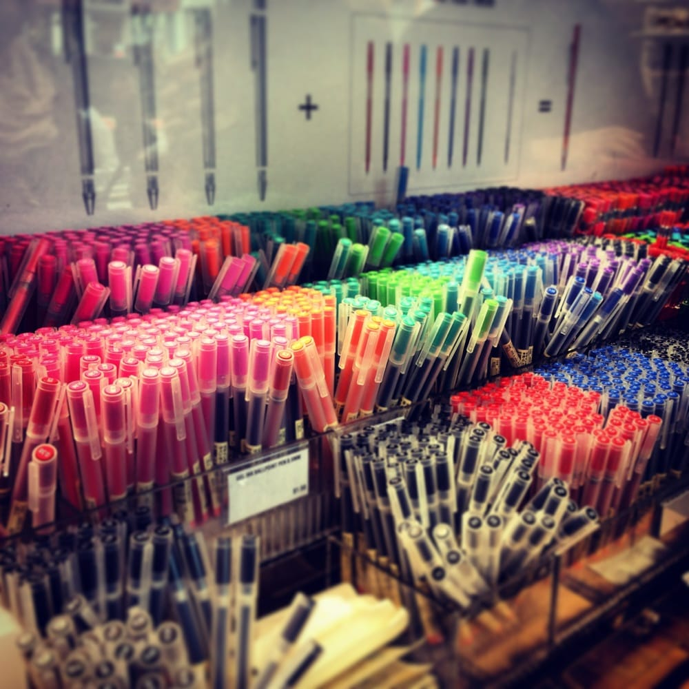Muji Mattress Review Muji gel pens come in .7 .5 .38 $1.50 each .7 in limited ...