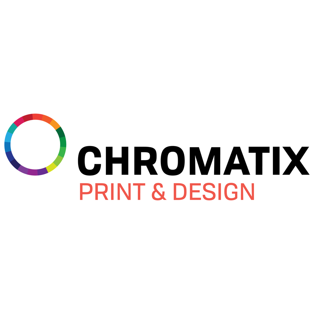 Chromatix print design logo business cards printing services photo of chromatix printing mississauga on canada chromatix print design logo reheart Images