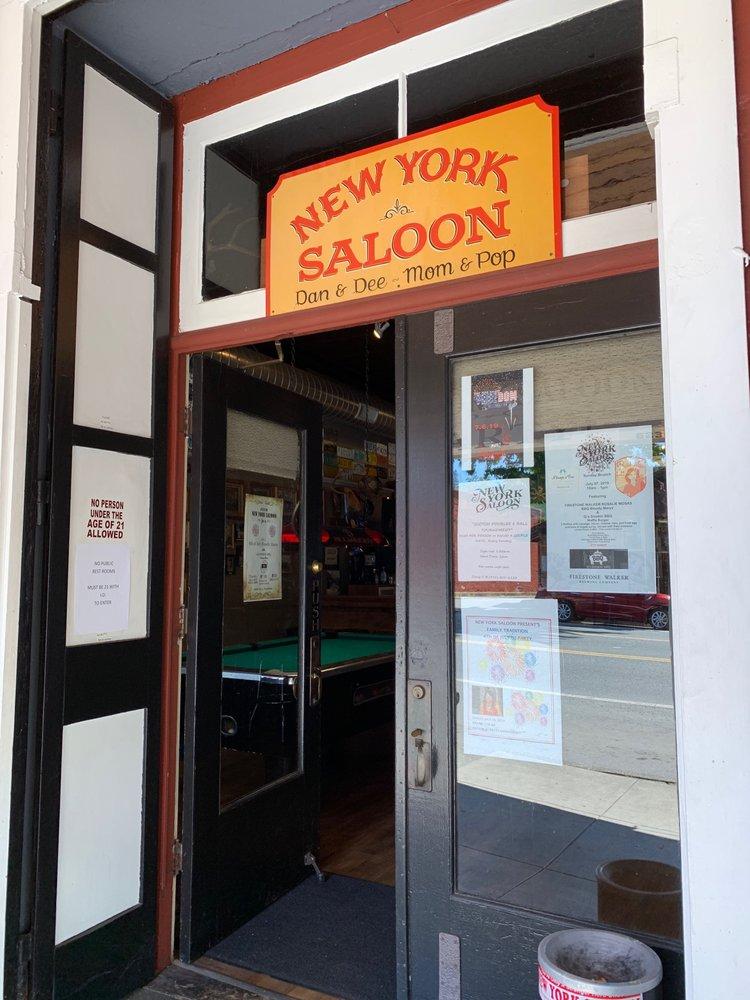New York Saloon: 533 Main St, Weaverville, CA