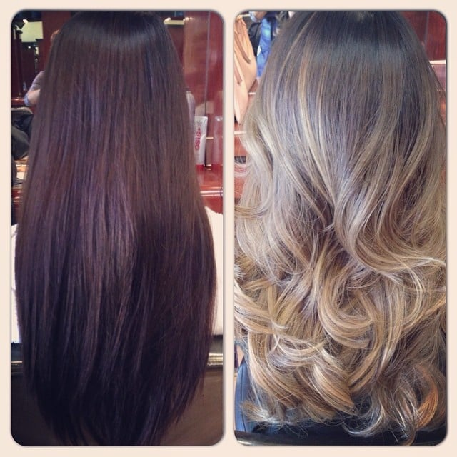 From Typical Asian Hair To Fabulous Ash Blonde Ombre Yelp