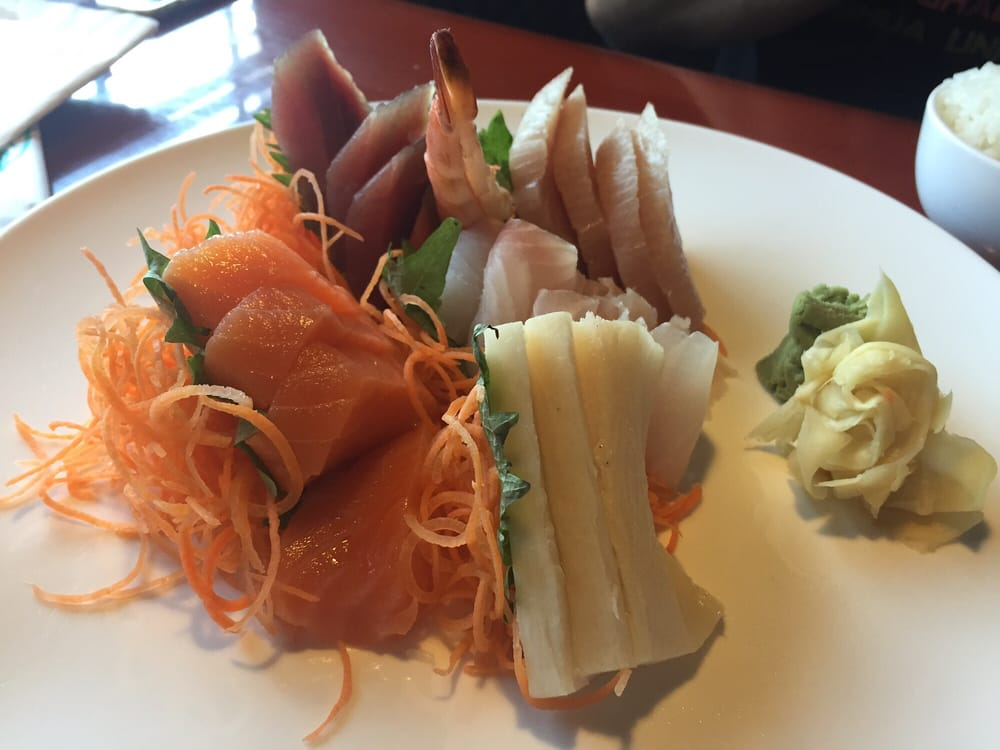 Sashimi very reasonable price and yummy yelp for Akina japanese cuisine price