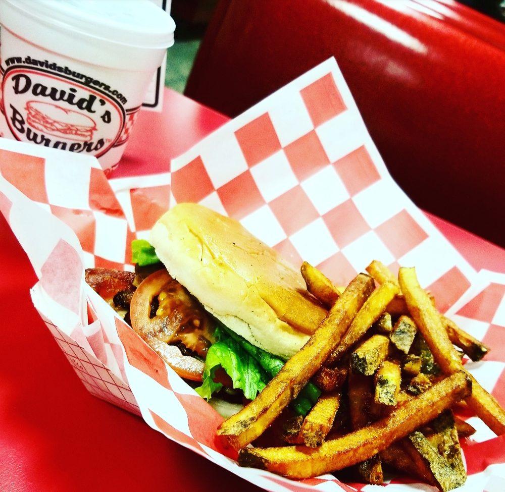 David's Burgers: 101 S Bowman Rd, Little Rock, AR