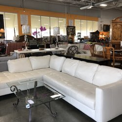 Photo of Home Consignment Center - Yorba Linda, CA, United States. Leather  sectional
