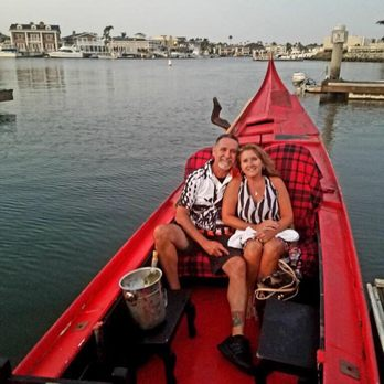 Photo Of Sunset Gondola Huntington Beach Ca United States 25th Wedding Anniversary