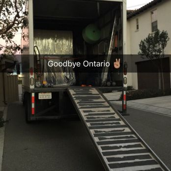 Photo Of Elite Movers Ontario Ca United States Truck Packed
