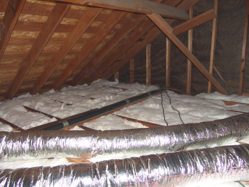 Batt Insulation Removal Job 1 Installing New Insulation